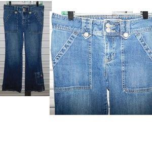 Heavy Duty Old Navy Jeans Size 6 Cargo Denim